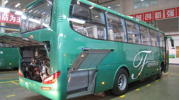 Farinas New Buses for Laoag