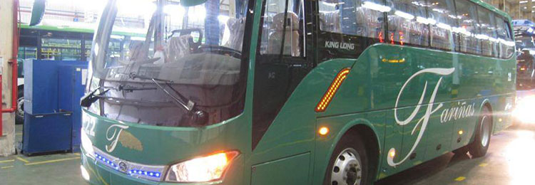 8 New Buses for Laoag and Baguio