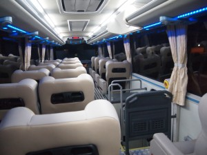 farinas super deluxe bus interior